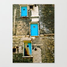 Doors to Nowhere Canvas Print