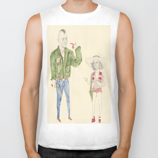 Travis Bickle and Iris Biker Tank