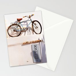Tinos bicycle Stationery Cards