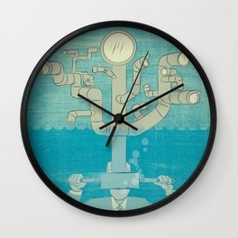Eye Sea Wall Clock