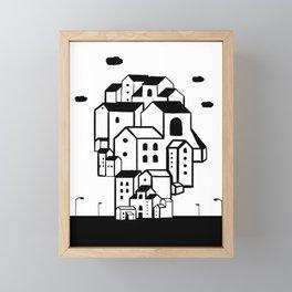 where is your home? Framed Mini Art Print