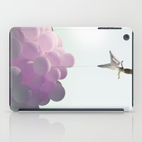 ballon iPad Cases featuring by a thread_ ballon girl by Vin Zzep