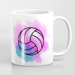 Volleyball Watercolor Coffee Mug