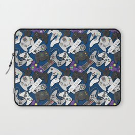 Game On- Blue Laptop Sleeve