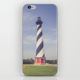 Cape Hatteras Lighthouse (3) iPhone Skin