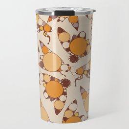Fractal Cicada Swarm Travel Mug