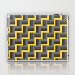 Plus Five Volts - Geometric Repeat Pattern Laptop & iPad Skin