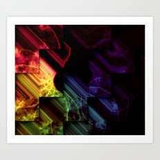 ColorCrystal Art Print