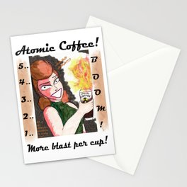 Atomic Coffee Stationery Cards