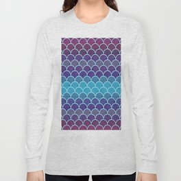 Watercolor Lovely Pattern VVIII Long Sleeve T-shirt