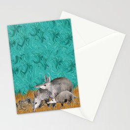 3 As in Aardvark Stationery Cards