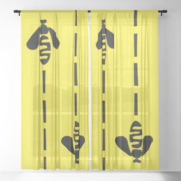 Beeline Sheer Curtain