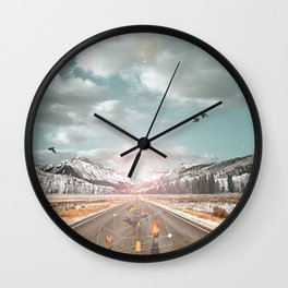 THE PURSUIT OF THE RED FREEDOM Wall Clock