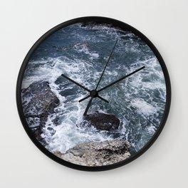 Rough waters 3 Wall Clock