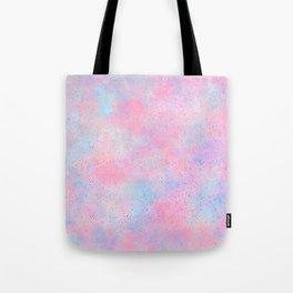 Artistic abstract magenta pink teal watercolor Tote Bag