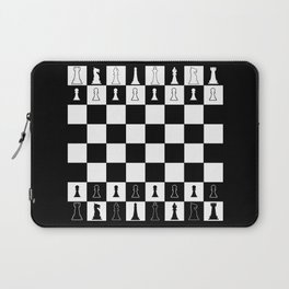 Chess Board Layout Laptop Sleeve