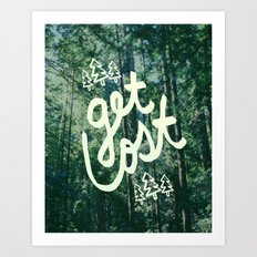 Get Lost x Muir Woods Art Print