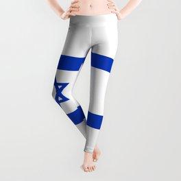 National flag of Israel Leggings