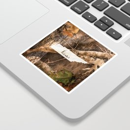 Tennessee is Home - Camo Sticker
