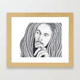 Marley - Word Art Framed Art Print