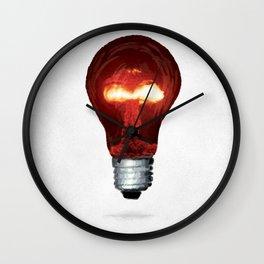 Eureka Bomb Wall Clock