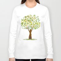 tree of life Long Sleeve T-shirts featuring Life tree by Michelle Behar