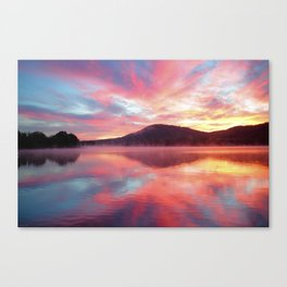 Sunrise: Fire Above and Fire Below Canvas Print