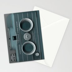 Camera Vintage Stereo  Stationery Cards