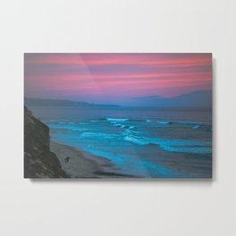 Encinitas Sunset Metal Print