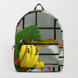 Tropical Squares Backpack