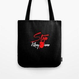 Stop Kidney Disease - Black Tote Bag