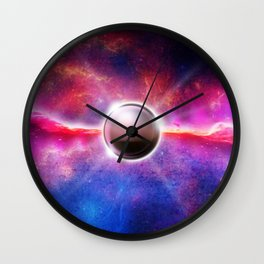veritas post umbra Wall Clock