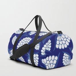 Royal Floral Motif Duffle Bag