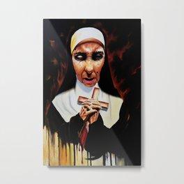 Sister Agatha Metal Print