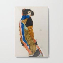Egon Schiele - Moa (Dancer) Metal Print
