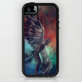Cosmic Wings iPhone Case
