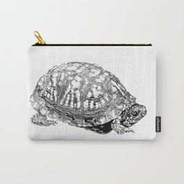 box turtle drawing Carry-All Pouch