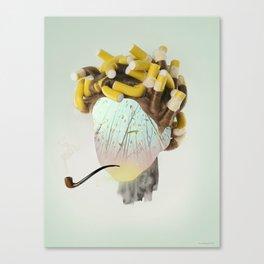 Faces 2/5 - Paradise Canvas Print