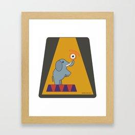eye.lephant Framed Art Print