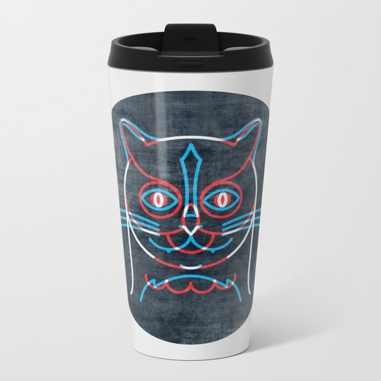 The Pussycat and The Owl Metal Travel Mug