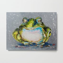 The Toad Metal Print