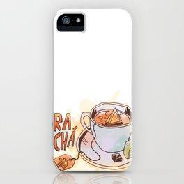 Hora do chá (Tea Time) iPhone Case