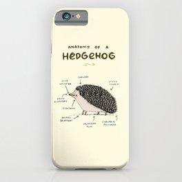 Anatomy of a Hedgehog iPhone Case