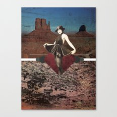 The Sensationalist Canvas Print