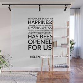 Helen Keller Quote Wall Mural