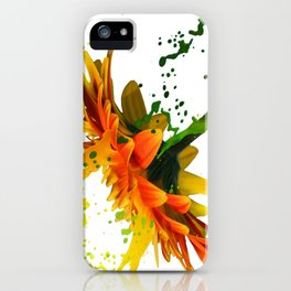 Liquid Daisy iPhone Case