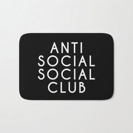 anti social 2 Bath Mat