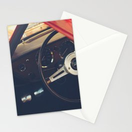 Triumph Spitfire, fine art photo, british car, sports car, classic car, supercar, old car print Stationery Cards