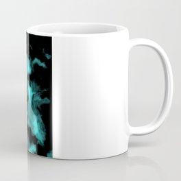 Teal and Black Coffee Mug