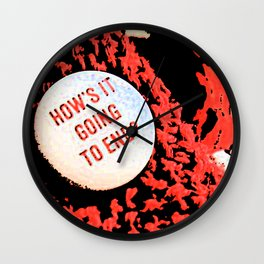 It's the Truman Show! Wall Clock
